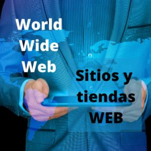 Sitios y tiendas WEB